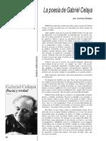 La Poesía de Gabriel Celaya