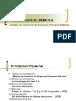 Modelo de Empresa Exitosa en El Perú