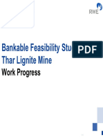 Bankable Feasibility