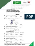 Subiect Matematica Etapa II 2016 2017 Clasa I