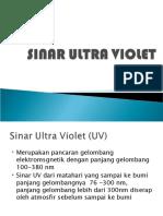 Sinar Ultra Violet