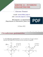 funzioni sinusoidali