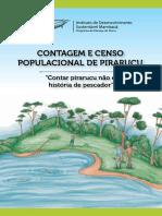 Contagem e Censo Populacional de Pirarucu - Contar Pirarucu Não é História de Pescador