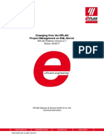 SQL Server EPLAN Projectmanagement 2.7 en US