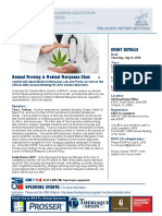 Annual Meeting - Medical Marijuana EVENT FLYER