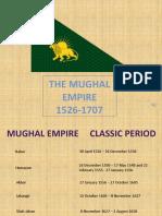 Mughal Empire 1526-1707