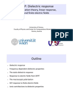 VASP Lecture Dielectric