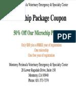 Microchip Coupon