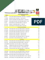 Lista de Precios de Port a Tiles