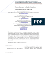 2010 (Zahari Taha) Effect Insert Geometry on Surface Roughness in the Turning Process of AISI D2.pdf