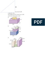 Surface Area ( Rectangular Composite Objects) Homework