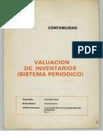 Contabilidad - Valuación de Inventarios (Sistema Periódico)