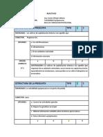 Reactivos Evaluacion Parcial