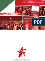 51bdd9566 Resolucões do III Congresso Nacional do Partido dos Trabalhadores