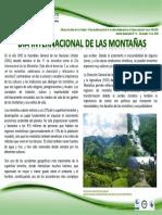 BOLETÍN N° 35 de 2016_ Día Internacional de las Montañas_11-12-2016