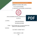 Determinacion de Resitencia de Peliculas Plsticas