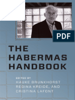 Hauke Brunkhorst the Habermas Handbook