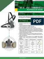 Ficha Técnica M500