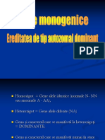 Boli Monogenice AD 2015