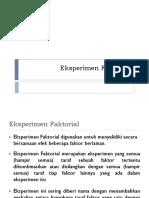 06. Desain Eksperimen Faktorial Axb