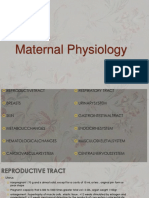 Chapter 4 Maternal Physiology