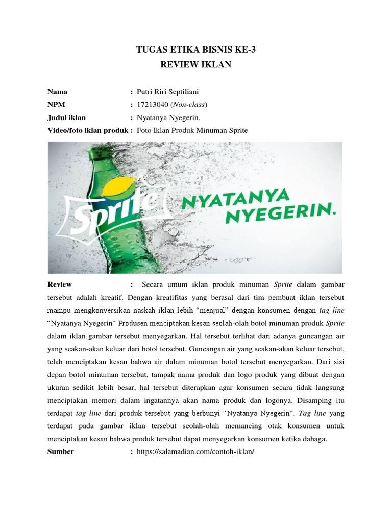 Contoh Iklan Minuman Fanta Dalam Bahasa Inggris Converge Ncia