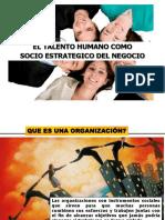 Talento Humano Socio Estratégico Del Negocio
