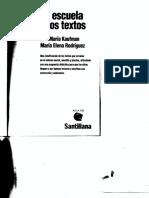 Kaufman_Rodriguez_La Escuela y Los Textos