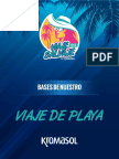 Bases Viaje de Playa 2018 Op