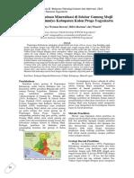 Indikasi Keberadaan Mineralisasi Di Sekitar Gunung Mujil
