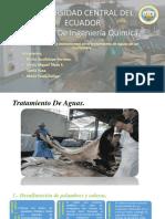 Curtiembre Tratamiento de Aguas a. Químico e Istrumental