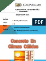 concreto-climas-calidosdiapositivas