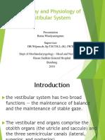 Vestibular Function and Anatomy Ratna