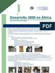 poster Desarrollo 2000 en África
