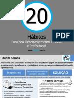20 Hábitos Para Desenvolvimento Pessoal e Profissional