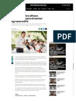 27-06-18 Miguel Castro ofrece beneficios para el sector agropecuario