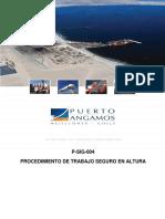 P-SIG-005 Trabajo Seguro en Altura