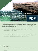 La Meteorización y El Ciclo Global Del Carbono_ Perspectivas Geomorfológicas