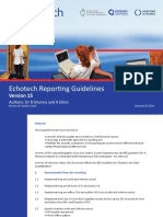 Echotech Reporting Guidelines Version 15
