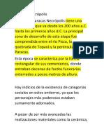 Paracas Necrópolis