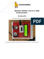 Arduino Air Monitor Shield Live in a Safe Environment