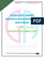 Inequality PDF by Governmentadda.com