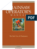 Chainsaw Operator 39 s Manual the Safe Use of Chainsaws Sixth Edition