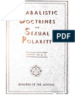 Qabalistic Doctrines on Sexual Polarity - Ann Davies