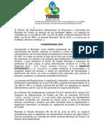 Resolución Final Legalización Sector Mirador-Panorama 104-02!02!022 Del 24 de Diciembre de 2014
