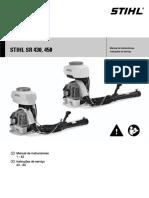 45 Pulverizador Stihl Sr 450