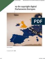 La Nacion - La Ley de Copyright Digital Avanza en Europa