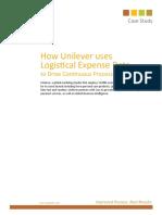 Cass - Unilever Case Study