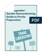 A Transgender/Gender Non-Conforming Guide to Parole Preparation