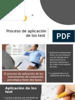 Proceso de Aplicación de Los Test